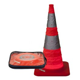 Foldable Road cone.