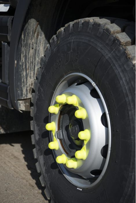 Wheel nuts for safety and security
