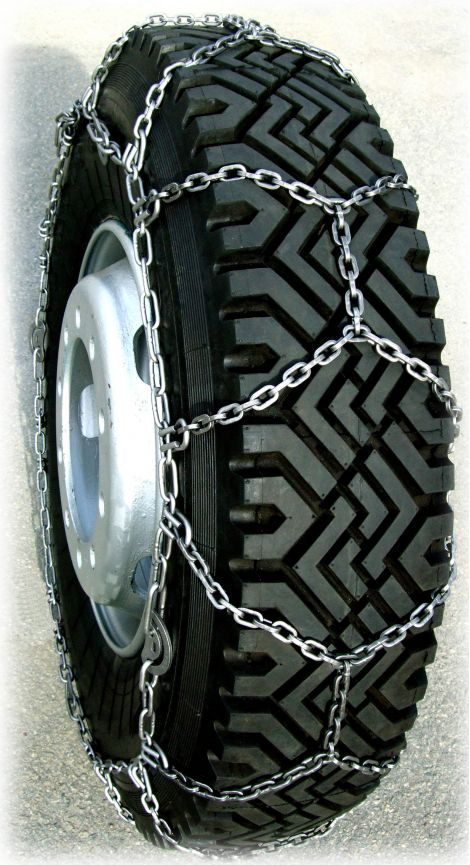 TRYGG Easy Trac Lightweight 5,5 mm snow chains.