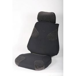 2249548 Grey/dark grey, Luxury seat, left side