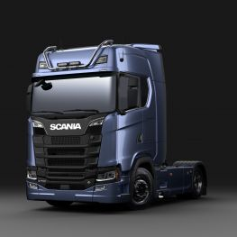 2706258 Scania light bar for high roof, short with LED.