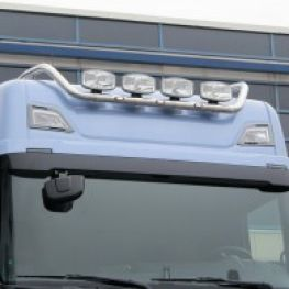 Stainless steel roof light bar - Kama - for Scania NTG.