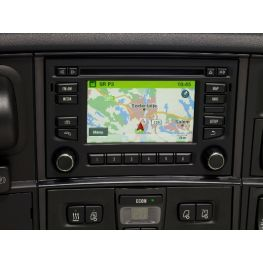 Scania radios with satellite navigation