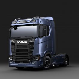 2706263 Scania roof light bar for normal roof, long without LED.