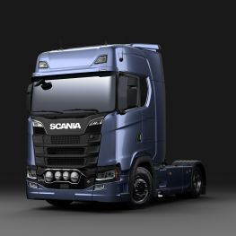 Scania catalog stainless steel front light bar scania aloadofball Choice Image
