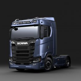 2706264 Scania light bar for normal roof, short with LED.