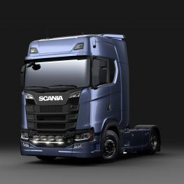 2706282 Scania front light bar straight, with LED.