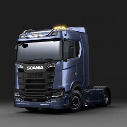 2706265 Scania light bar for normal roof, long with LED.