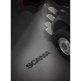 2493645 Scania Welcome Light LH - Scania wordmark.