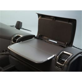 2078467 Fold-out table for passenger side, Including storage compartment, mat and mounting parts
