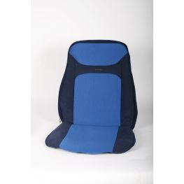 582359 Blue/blue cover for Isri 1000, 6000, 65000 with high backrest