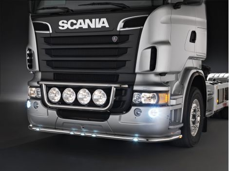 Stainless steel front light bars - Kama - for PRG series