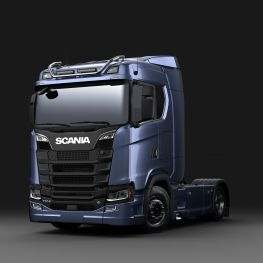 2706262 Scania light bar for normal roof, short without LED.