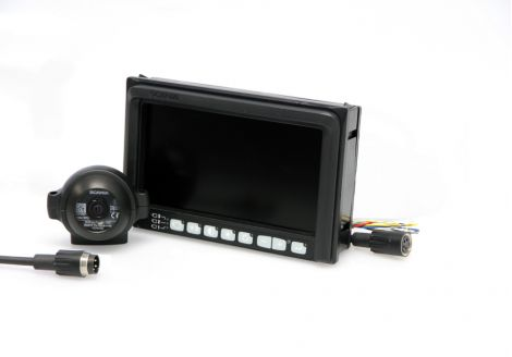 Rear view system kit